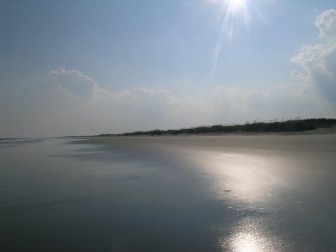 Sand Reflecting Sunshine